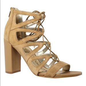 NIB Sam Edelman Yona heeled sandals. Size 9 1/2